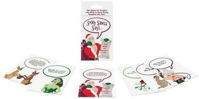 Sexy Santa Says...Card Game