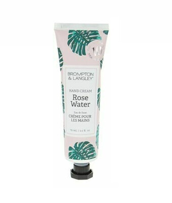 Luxury Hand Cream - Rose Water 2.5oz