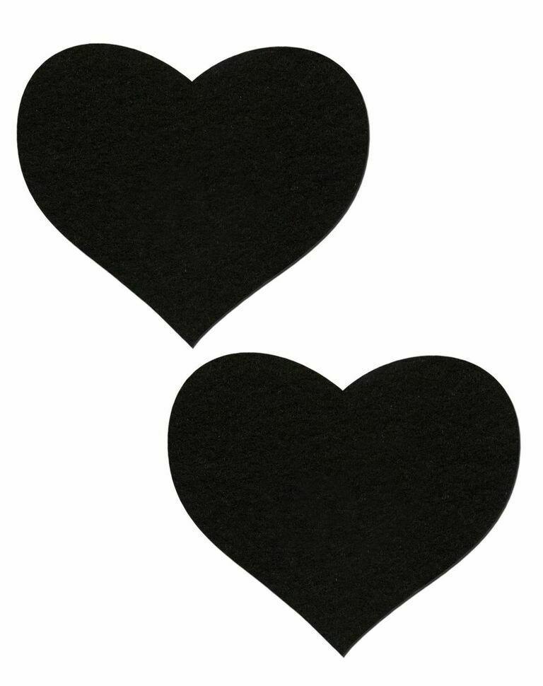 Pastease Sweety Black Heart Pasties
