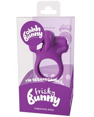 Vedo Frisky Bunny Vibrating Cock Ring Purple