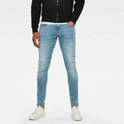 G-star Revend skinny Jeans Light Indigo Aged