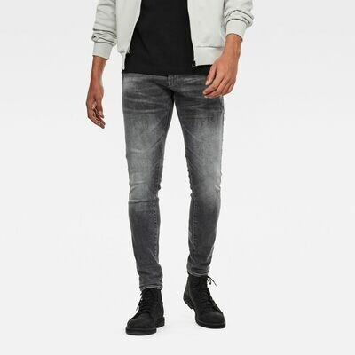 G-star 4101 Lancet Skinny Jeans Vintage Basal Destroyed