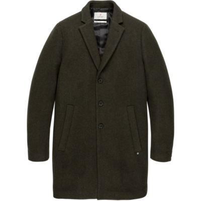 Cast Iron Green Long Jacket
