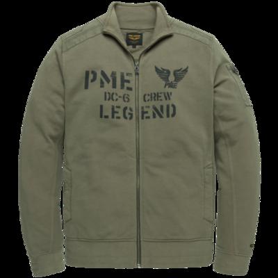 PME Legend Dry Terry Zip Through Jacket