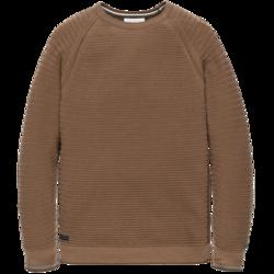 Cast Iron R-Neck Cotton Pullover