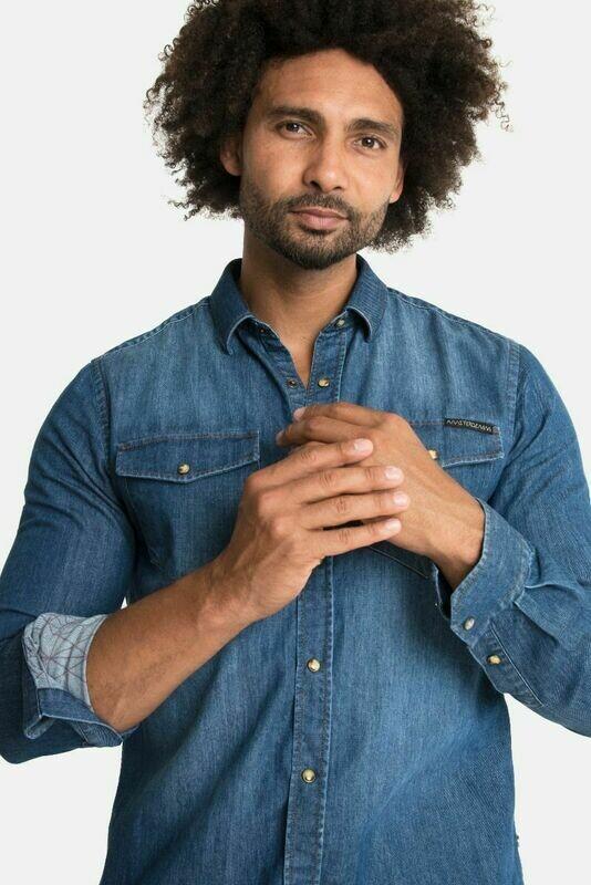 Amsterdenim Blue Denim Shirt