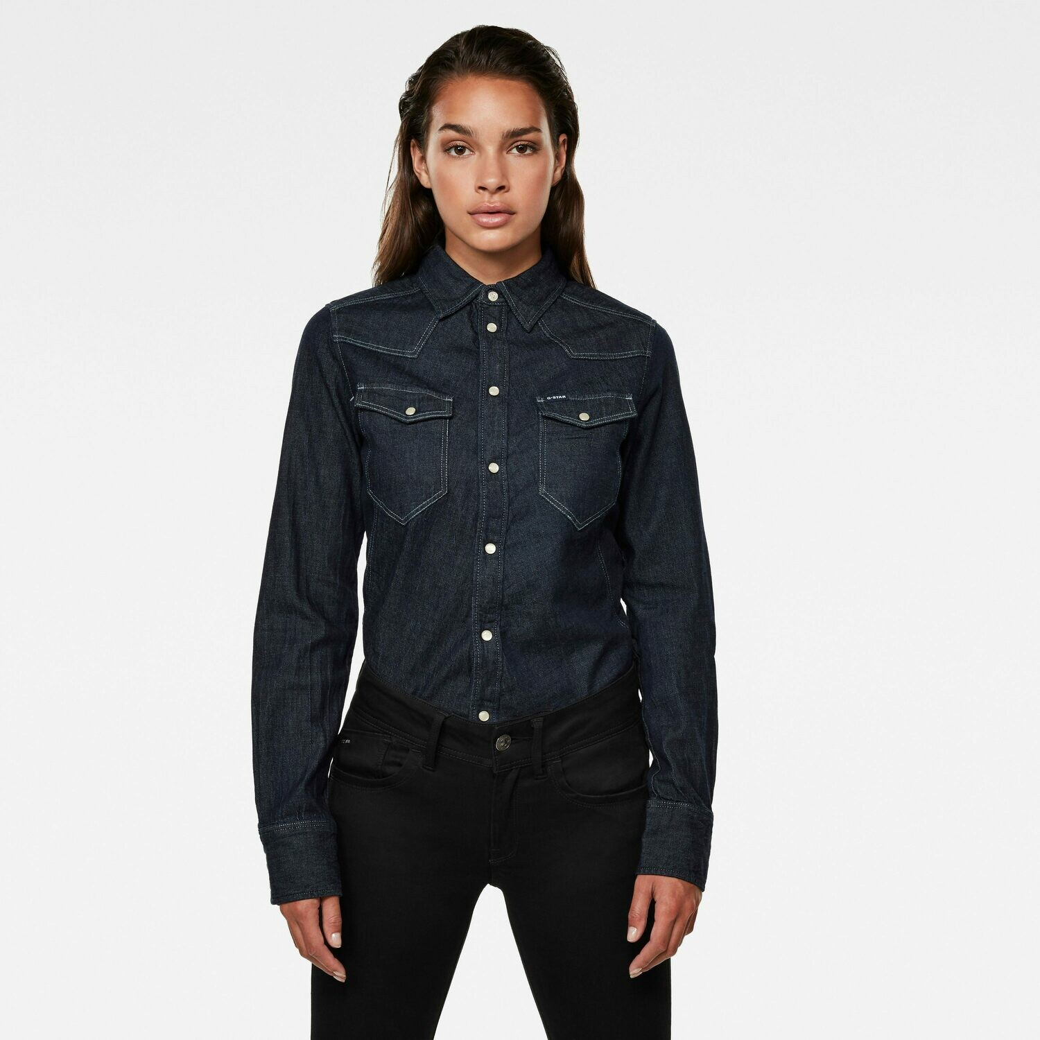 G-star Western Kick Denim Slim Shirt