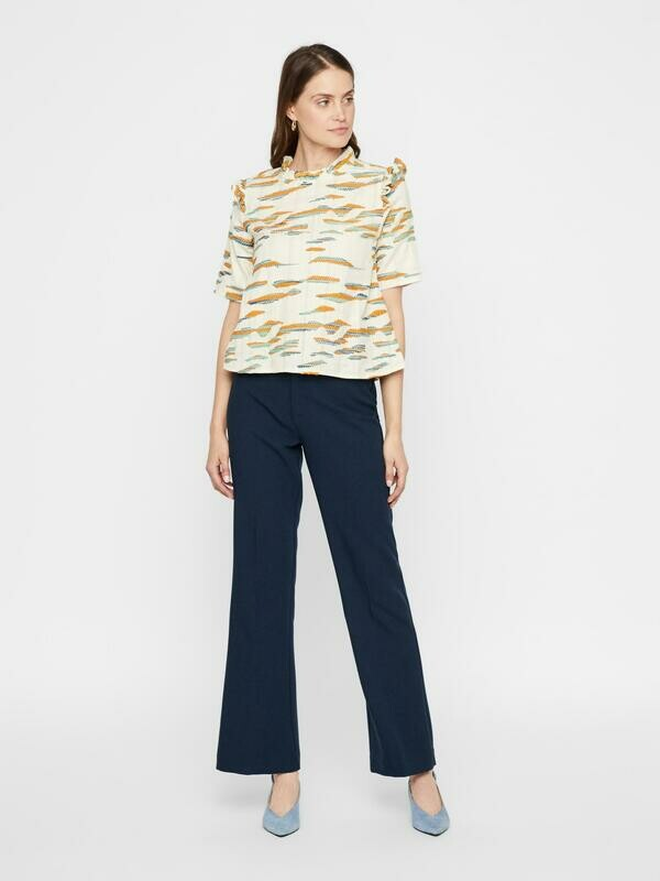 YAS Nuteo flare pants