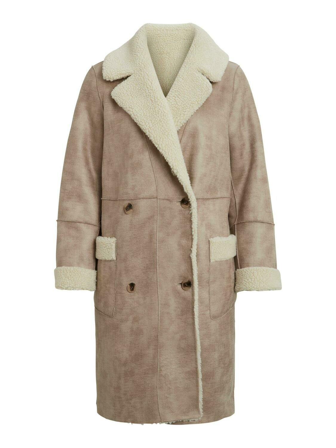 Vila VILIST 2in1 faux shearling coat