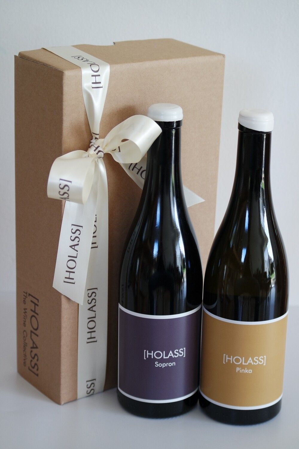 GIFT BOX with 2 [HOLASS] bottles