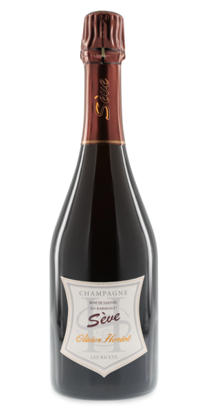 Champagne Sève Rosé de Saignée Brut Nature75 cl