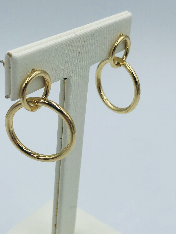 Oorbellen goud ringetjes 193924