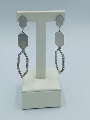 Oorbellen zilver 166095