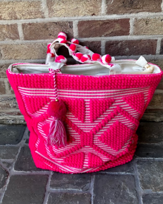 Shoppingbag roze