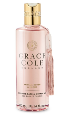 GRACE COLE - BATH & SHOWER 300ml - Vanilla Blush & Peony