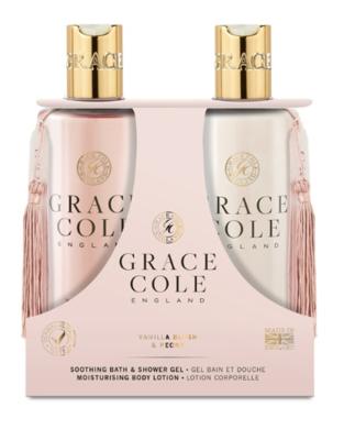 GRACE COLE - BODY CARE DUO 2X300ml - Vanilla Blush & Peony
