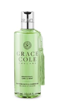 GRACE COLE - BATH & SHOWER 300ml - Grapefruit, Lime & Mint