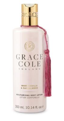 GRACE COLE - BODY LOTION 300ml - Warm Vanilla & Sandalwood