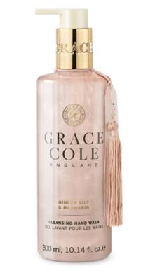 GRACE COLE - HAND WASH 300ml - Ginger Lily & Mandarin