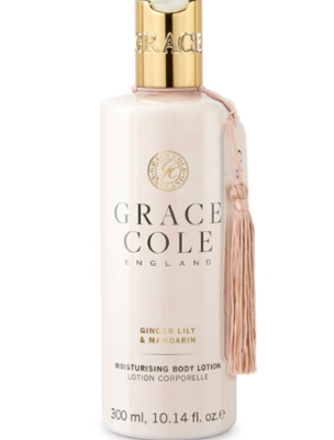 GRACE COLE - BODY LOTION 300ml - Ginger Lily & Mandarin