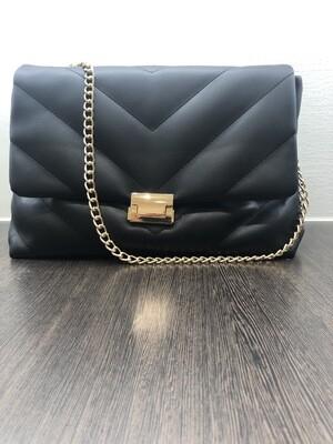 Zwart Leder Handtas
