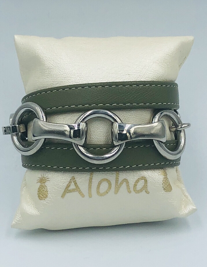 Armband Qudo Kaki