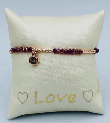 Armband Lizas Rood/Rosé