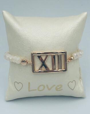 Armband Lizas beige XII