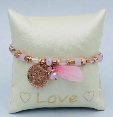 Armband Lizas roze