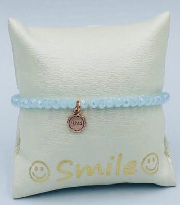 Armband Lizas lichtblauw
