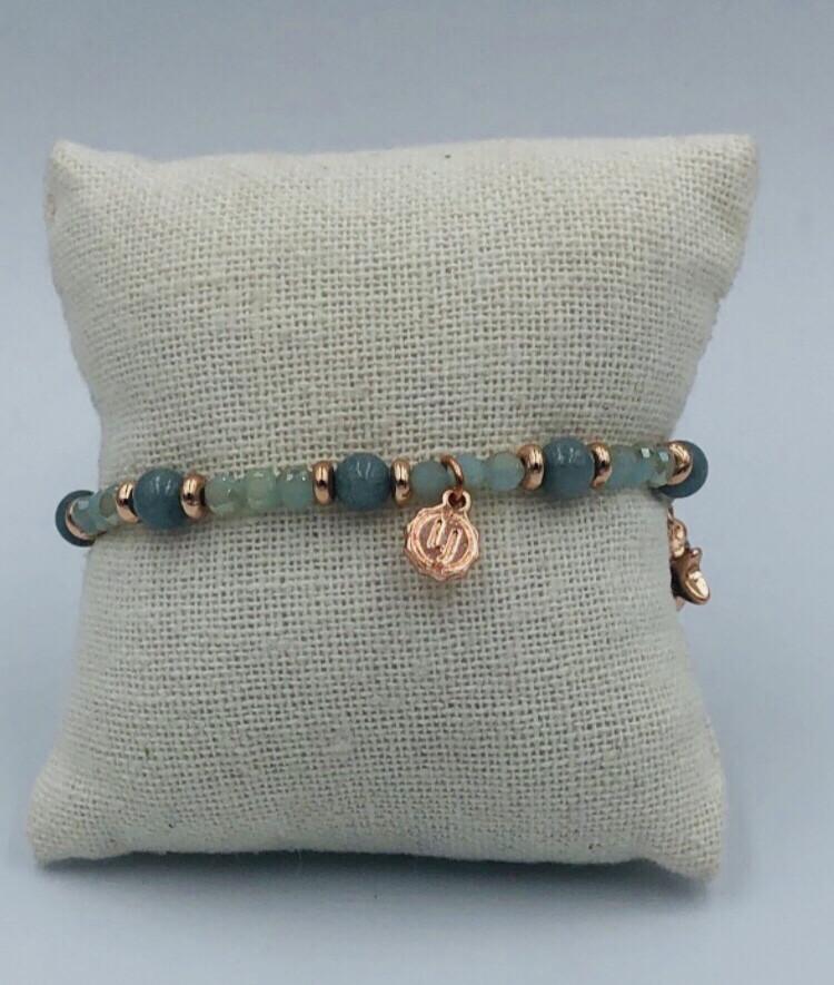 Armband Lizas grijs