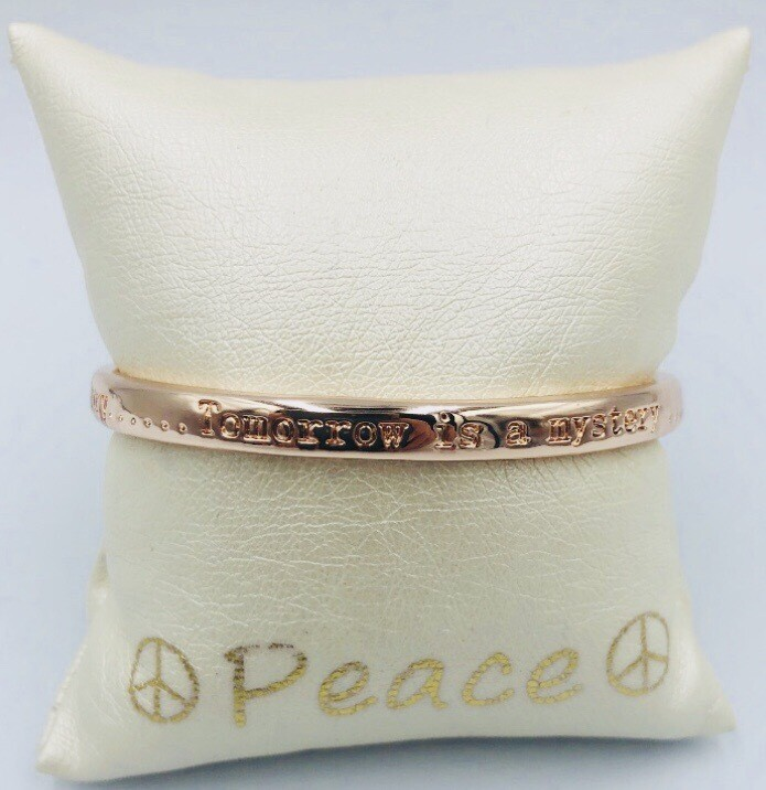 Armband Lizas Vast Rosé Halfopen