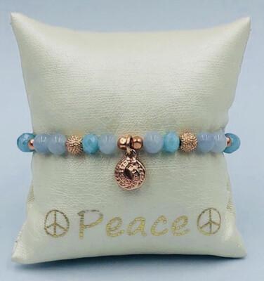 Armband Lizas Tinten Blauw