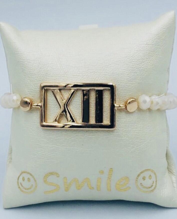 Armband Lizas Wit XII