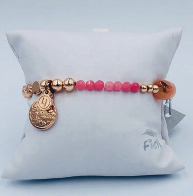 Armband Lizas Roze Goud