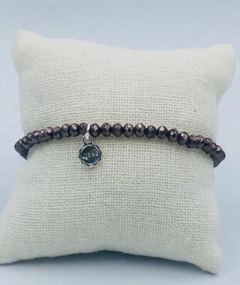 Armband Lizas Taupe