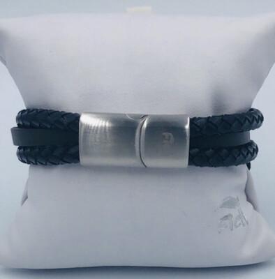 Armband Heren 20 Cm Leder