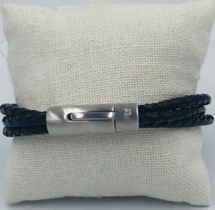 Armband Heren 22 Cm Leder