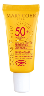 Spf 50+ Crème Anti-Âge Contour Des Yeux