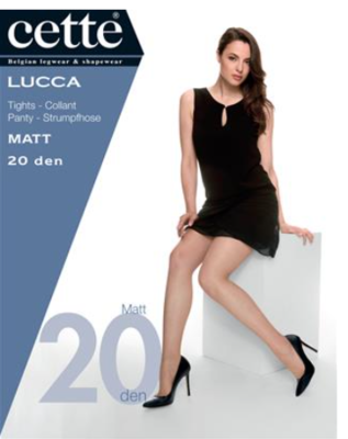 Lucca panty 20 DEN mat
