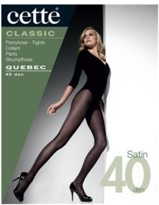 Quebec panty Opaque 40 Satin