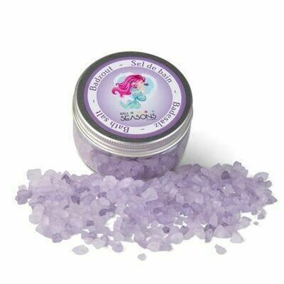 Bath salth purple mermaid