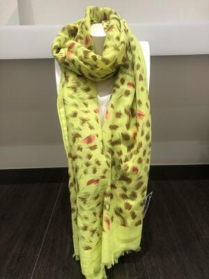 Sjaal: groen fluo