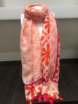 Sjaal Rood En Oranje