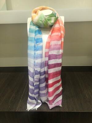Sjaal Colors Strepen