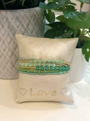 Armband Set Fijn Groen