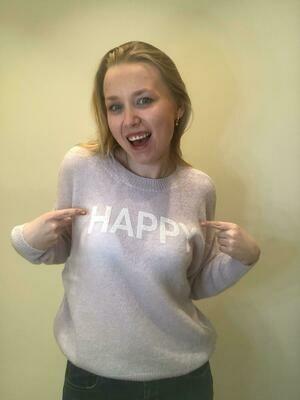 Trui Lila Happy Dolce C