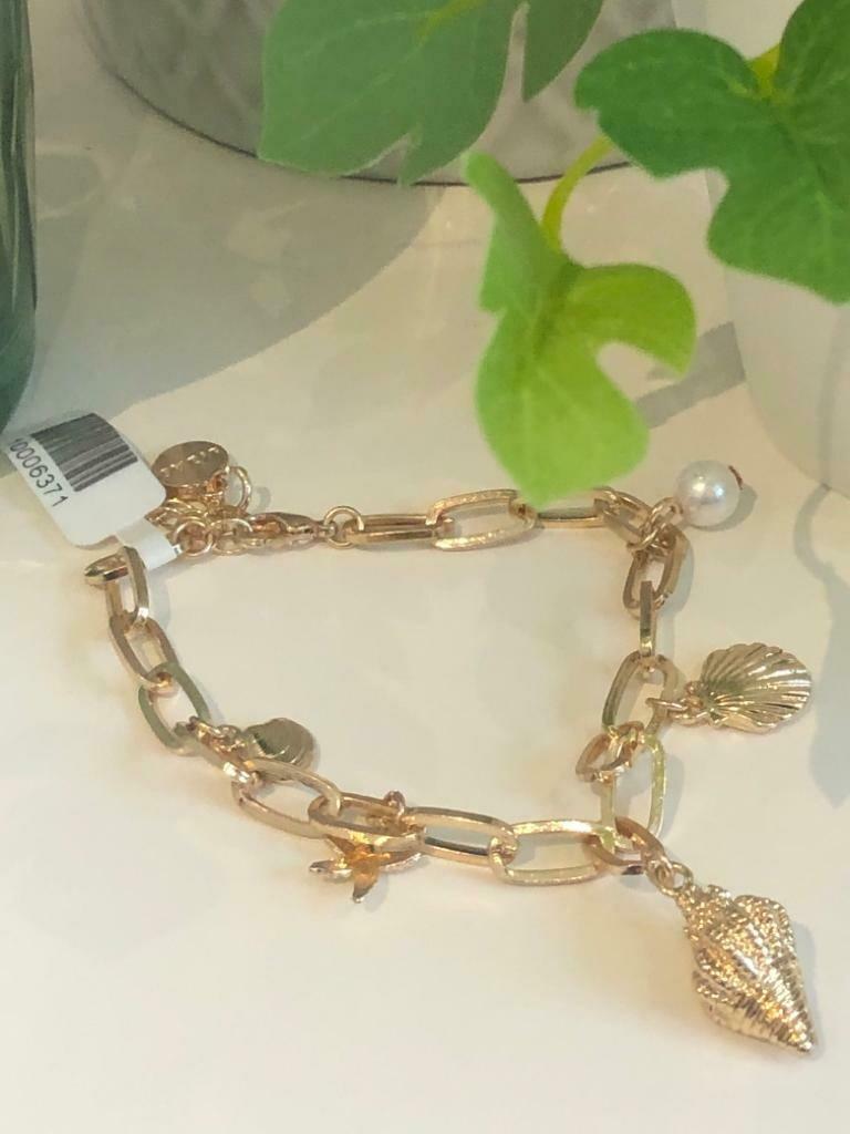 Armband schakel gold