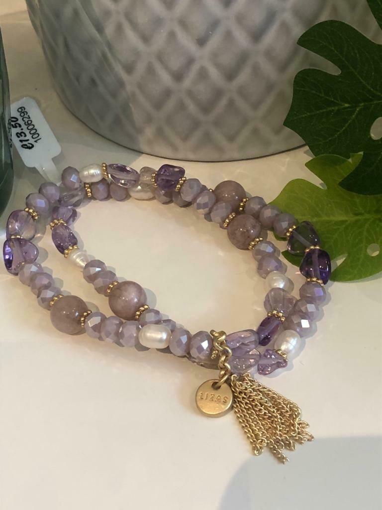 Armband set violet