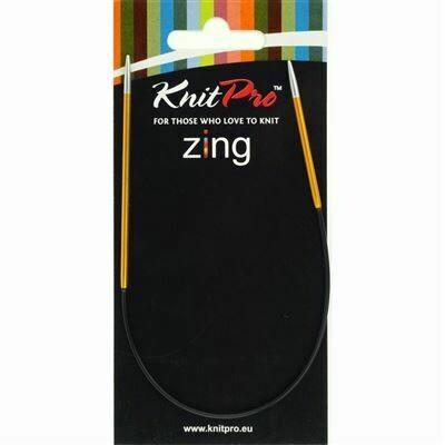 KnitPro Zing Rondbreinaalden 25 cm